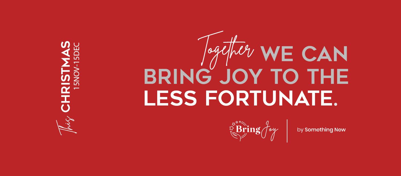Bring Joy - Campanie Cadouri Copii din familii defavorizate